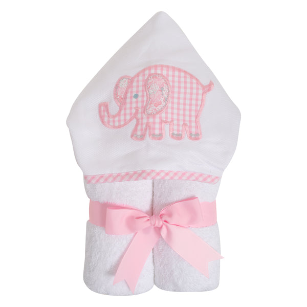 Pink Elephant Everyday Kid Towel