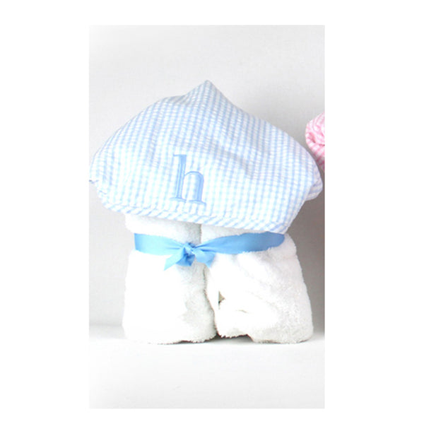 Initial Everyday Kid Towel Blue