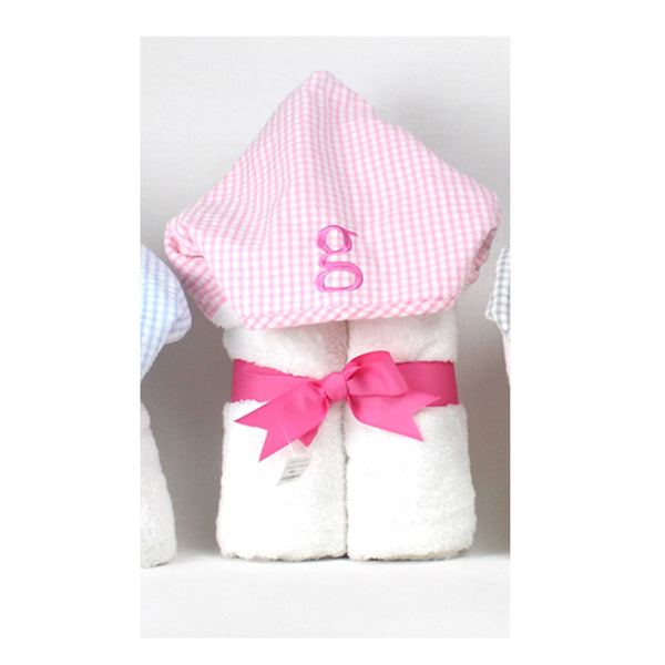 Initial Everyday Kid Towel Pink