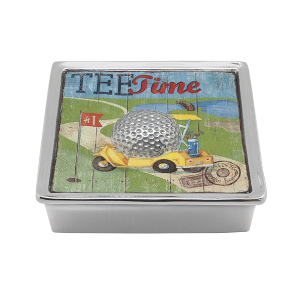 Golf  Ball Signature Napkin Box