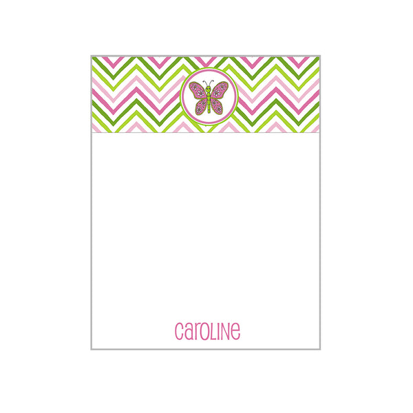 Kids Motif Notecards Personalized