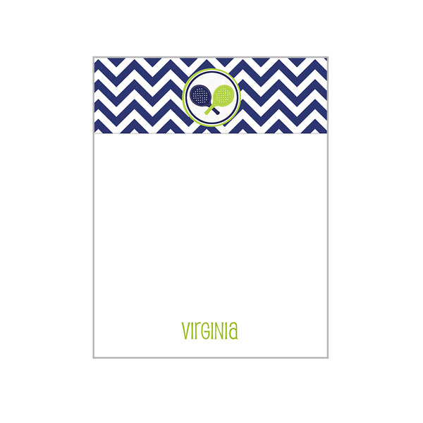 Sports Motif Notecards Personalized