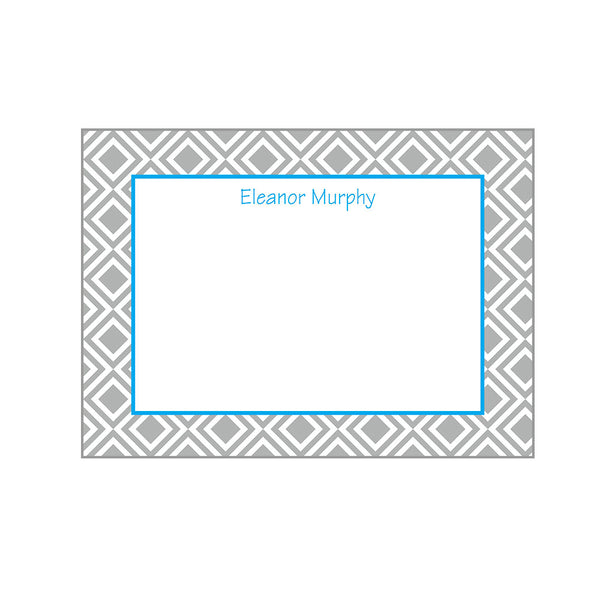 Diamonds Notecards Personalized