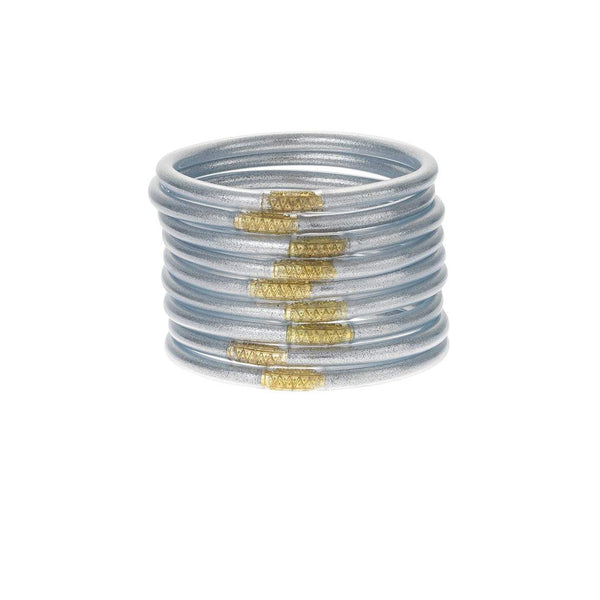 Silver BuDhaGirl All Weather Bangles