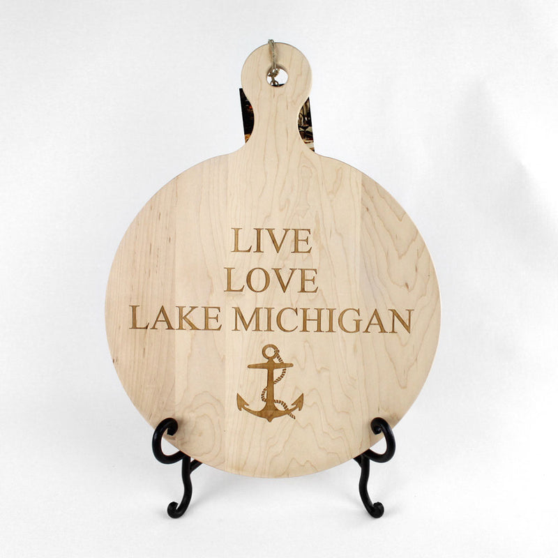Live Love Lake Board Custom