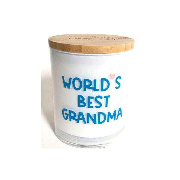 World's Best Grandma Candle