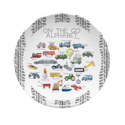 On The Go Alphabet Plate