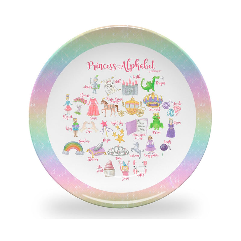 Princess Alphabet Plate