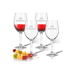Custom Acrylic Wine Glasses
