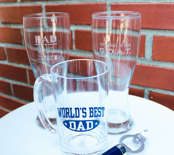 World's Best Dad Beer Mug