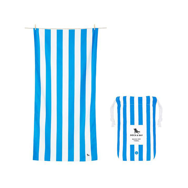 Cabana Stripe Quick Dry Beach Towel