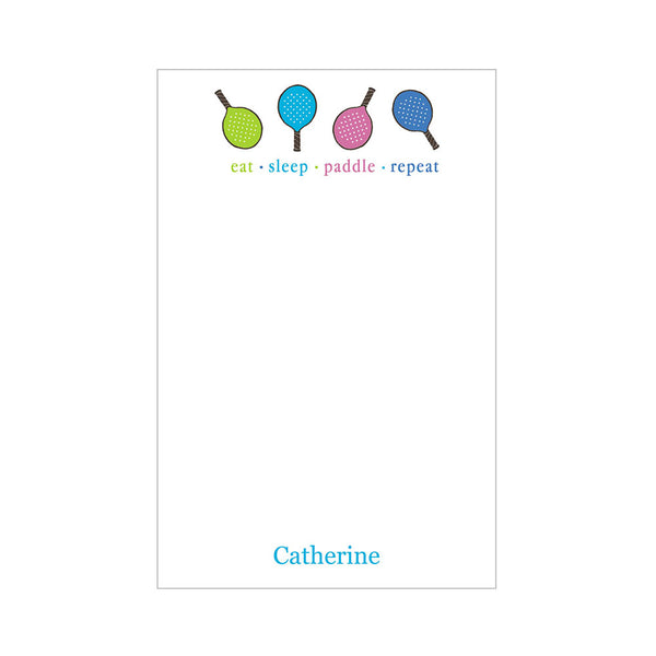 Paddle Notepad Personalized