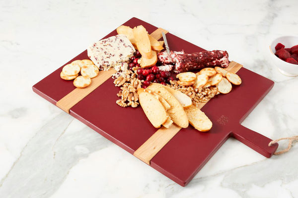 Rectangle Mod Charcuterie Board Merlot