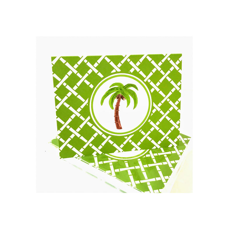 Palm Tree Folded Notecards