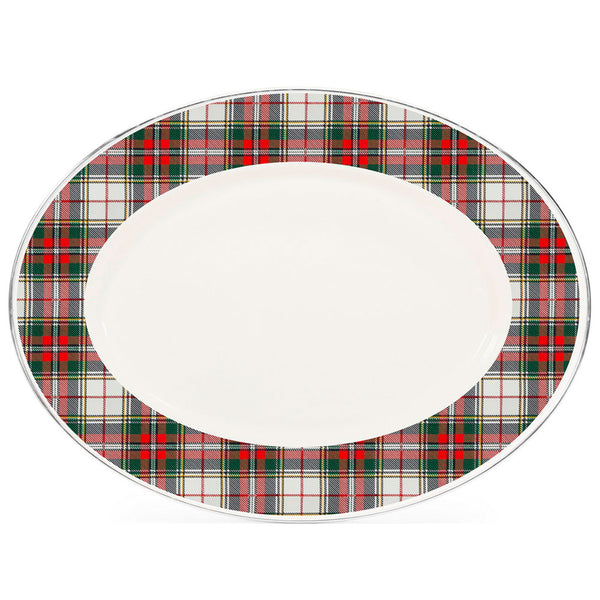 Highland Plaid Enamelware Collection