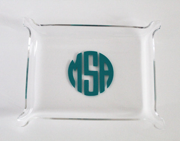 Personalized Acrylic Trinket Tray