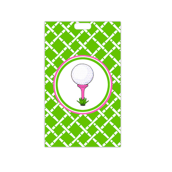 Golf Luggage Tag Personalized