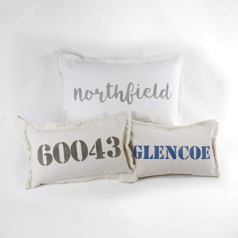 Custom Canvas Pillow Large
