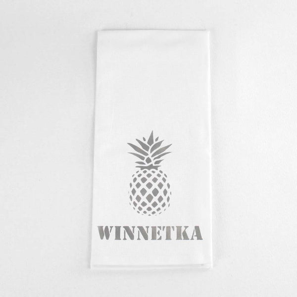 Hometown Tea Towel Pineapple
