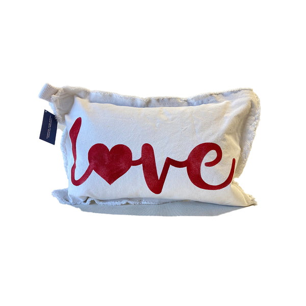 Love Canvas Pillow