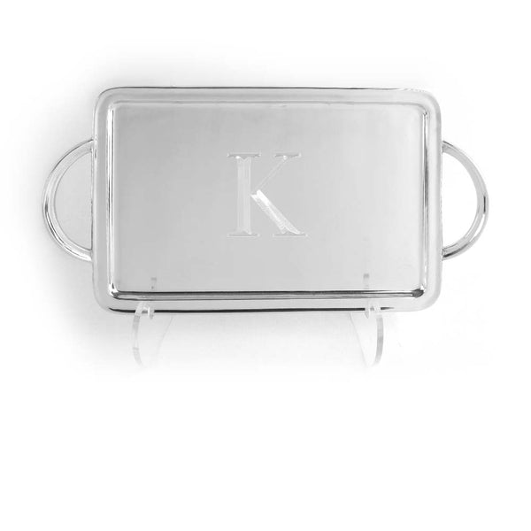Initial Signature Handled Tray