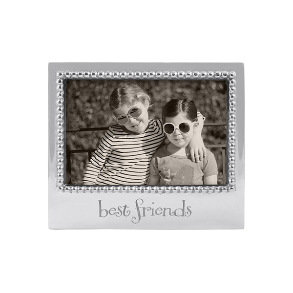 BEST FRIENDS BEADED 4X6 FRAME