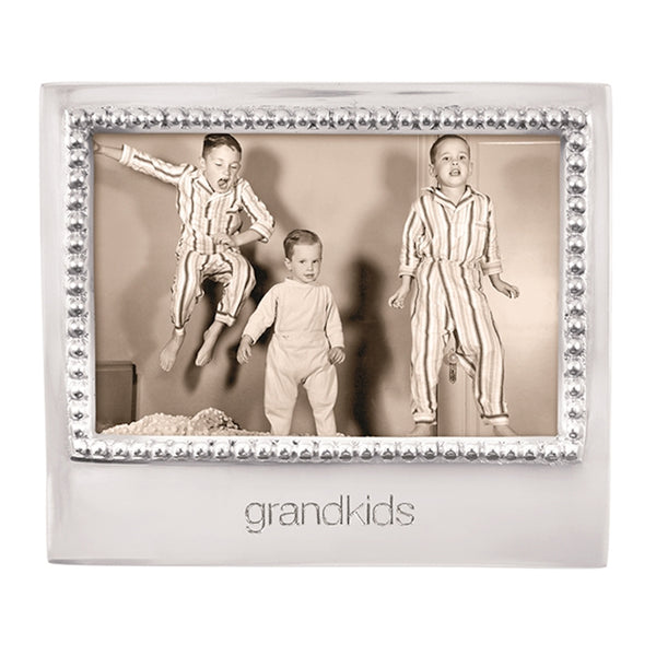 GRANDKIDS BEADED 4X6 FRAME