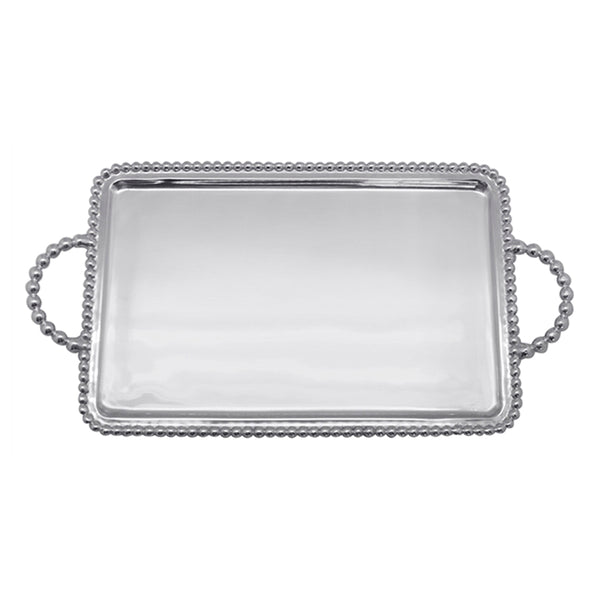 BEADED MEDIUM SERVICE TRAY