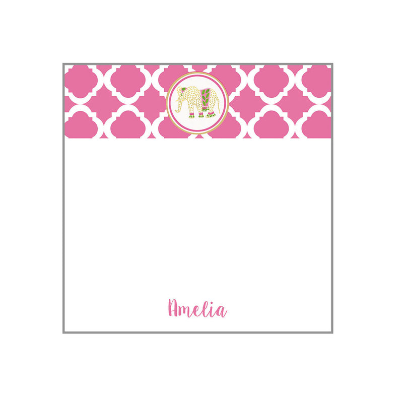 Motif Notepad Personalized