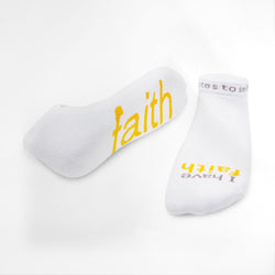 I Have Faith Socks