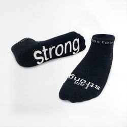 I Am Strong Socks