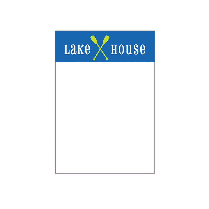 Lake House Notepad