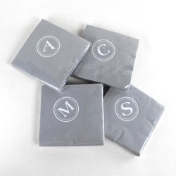 Initial Cocktail Napkins