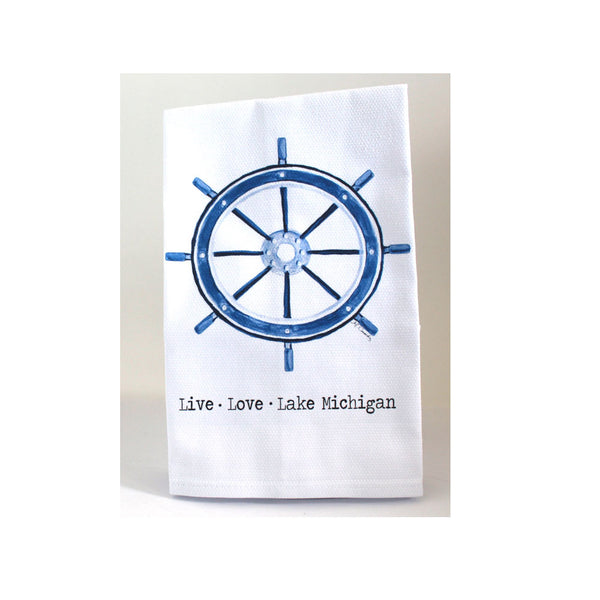 Lake Michigan Dish Towel