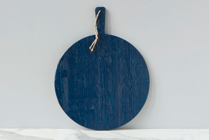 Round Mod Charcuterie Board Navy