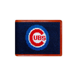 Cubs Needlepoint Wallet