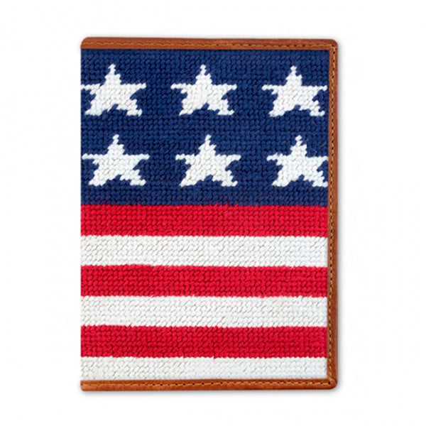 Needlepoint Passport Case