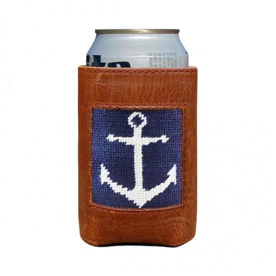 Anchor Needlepoint Can Cooler