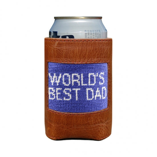 Dad Needlepoint Can Cooler