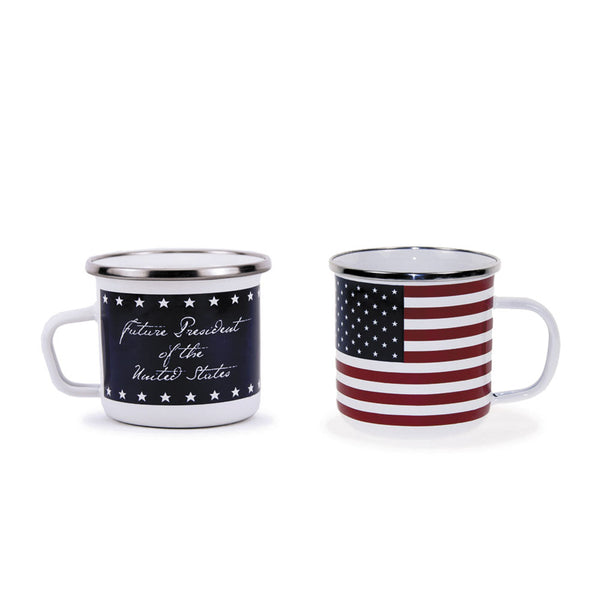 Stars & Stripes Enamel Baby Cup