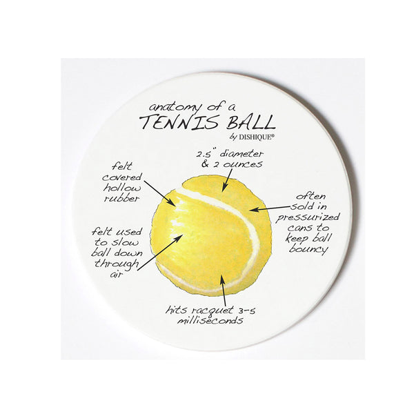 Tennis Ball Anatomy Coaster