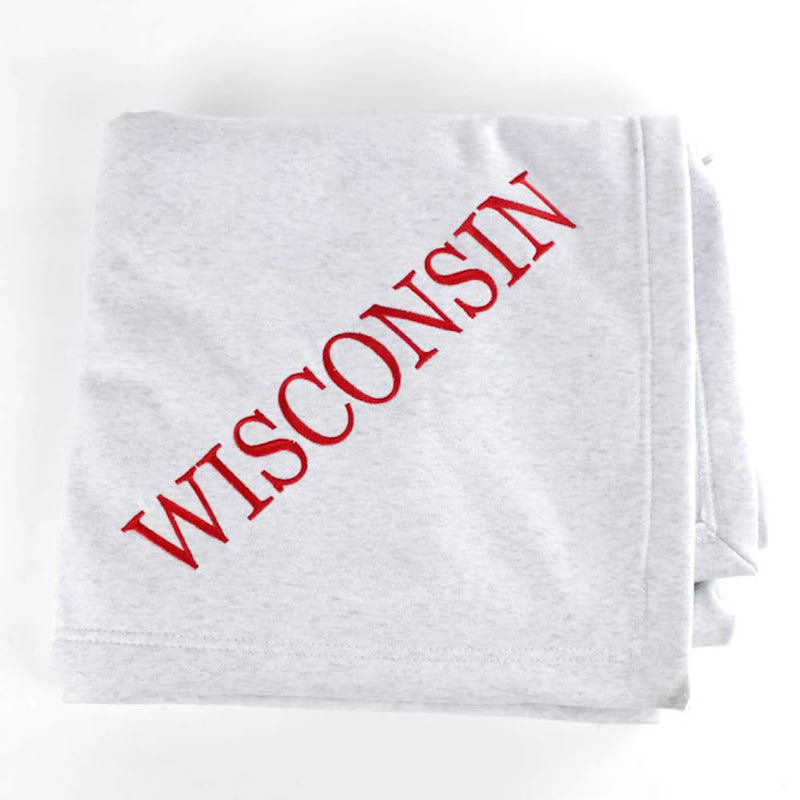 College Sweatshirt Blanket