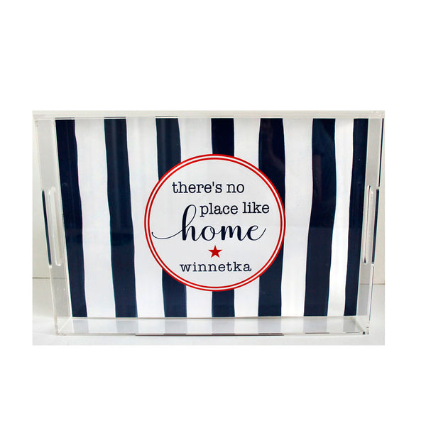Winnetka Stars & Stripes Acrylic Tray
