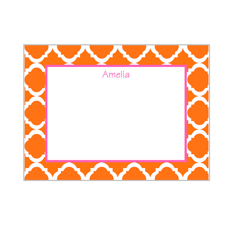 Casablanca Notecards Personalized