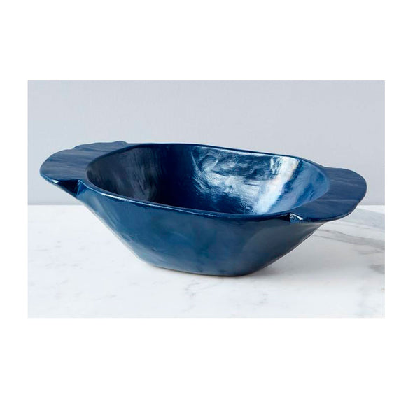 Vintage Dough Bowl Navy
