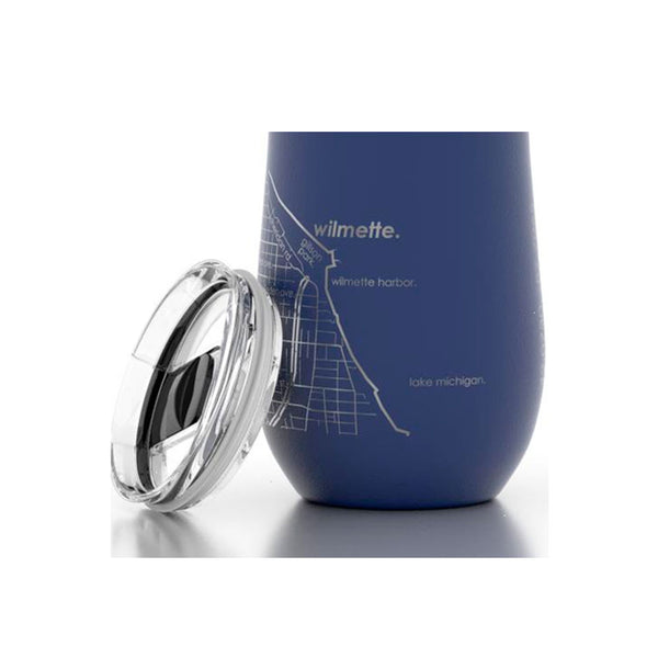 Wilmette Etched Insulated Stemless