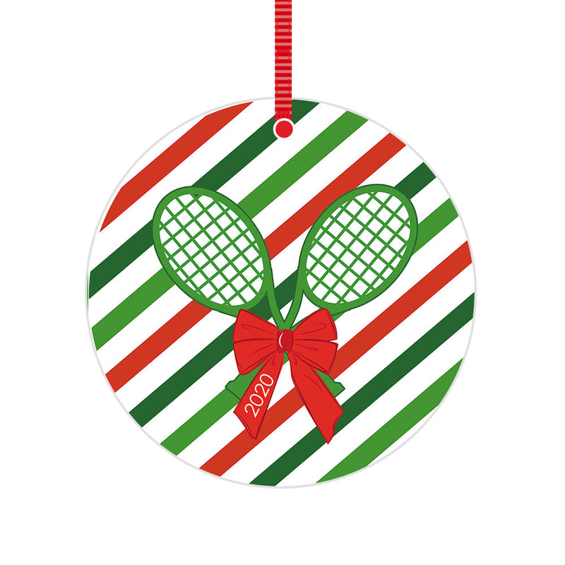 Tennis 2020 Christmas Ornament