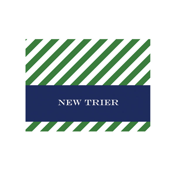 New Trier Folded Notecard