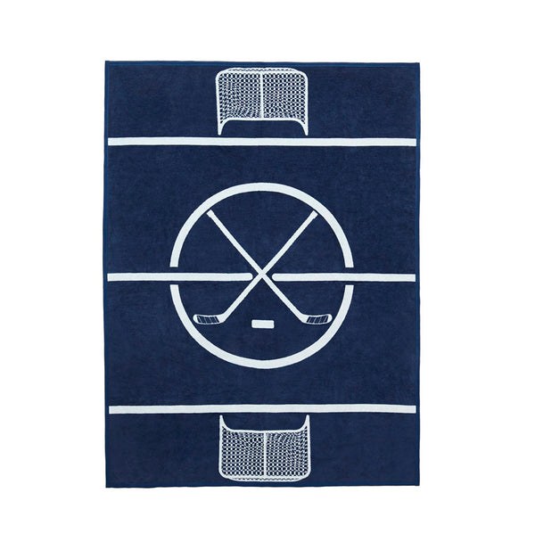 Blue Line Hockey Blanket