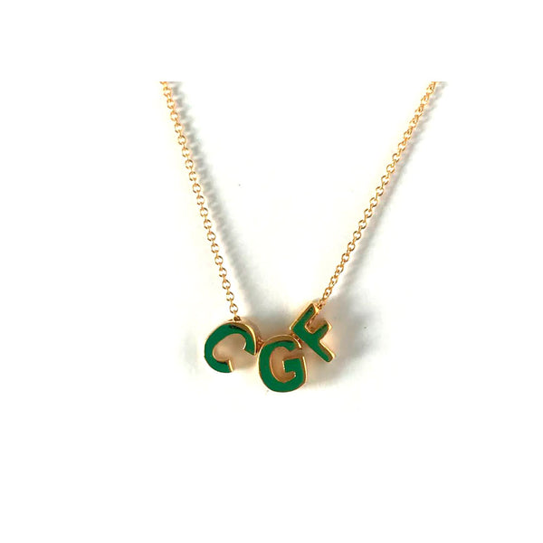 Delicate Custom Initial Necklace